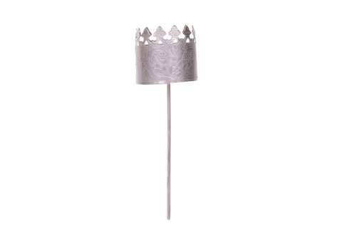 Kerzenhalter für Stumpen oderTeelicht Metall