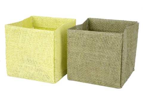 Pflanztasche Papier Jutedesign , 2 Modelle