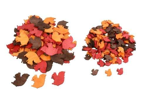 Eichhörnchen zum Streuen - Herbststimmung Holz