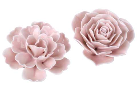 Keramikblüte, 2 Modelle