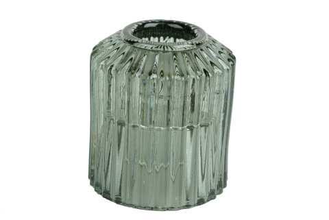 Teelichthalter Zylinderform Glas