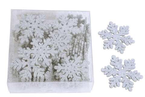 Schneeflocke zum Streuen - 2 Modelle