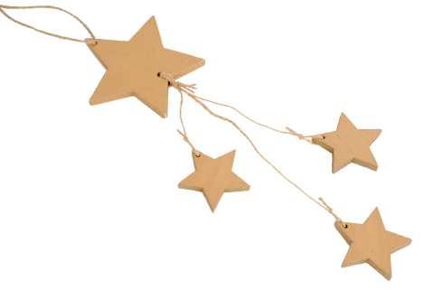 Sternenhänger Holz