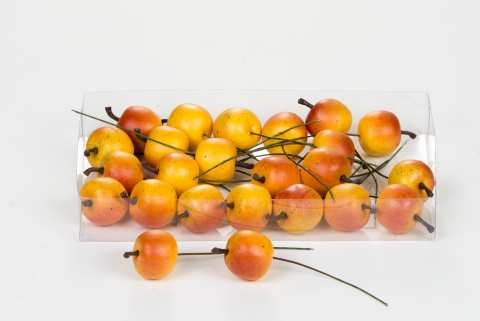 Apfel am Drahtpick