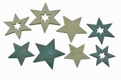 Sterne zum Streuen, 2 Modelle