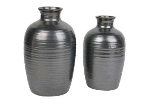 Keramikvase Louisa bauchig