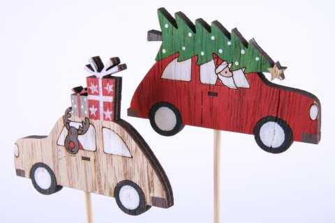 Holzauto am Stab, 2 Mod.