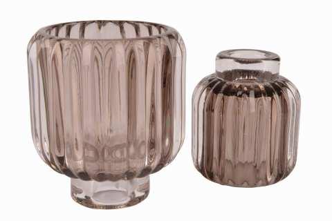Kerzen/Teelichthalter Glas