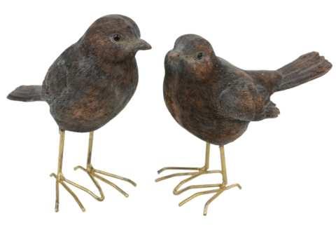 Vogel mit Drahtbeinen, 2 Mod.