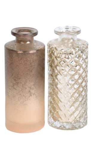 Glasflasche, 2 Modelle