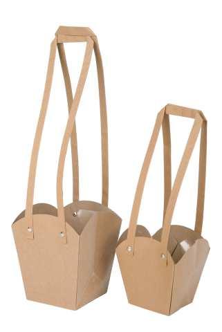 Tasche Papier mit Henkel